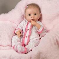 ASHTON DRAKE So Truly Real KATIE Baby Doll Breathes, Coos, Heartbeat NEW
