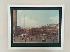 """Canaletto IMPRIME, Piazzetta imprimer, 20 """"x16"""" frame, Venise Mur Art"""