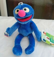Sesame Street Grover Plush Blue Soft Toy Doll Cuddle Stuffed Toy 11'' Ted (J)