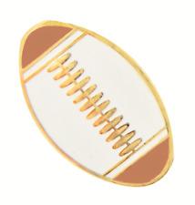 American Football / Gridiron Brown Ball Pin Badge