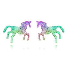 Unicorn Sparkle Glitter Orecchini Arcobaleno Colori Bellissimi Gioielli Regalo
