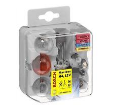 Bosch Maxibox H4 1987301114 Lampenbox Sicherungen Ersatzlampen 8-teilig