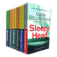 Mark Billingham 6 Books Collection Set Tom Thorne Novels Series Paperback NEW