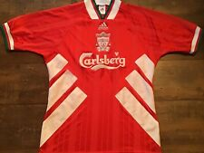 1993 1995 Liverpool Home Football Shirt Medium M Maglia Camiseta