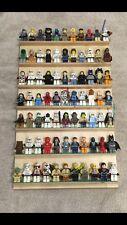 **BLUE STRIPS**Lego Display Shelf Organizer Storage Mini Figures Star Wars City