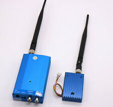 Long Distance 1.3GHz 3W Audio Video Transmitter Receiver FPV For RC Helicopter