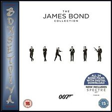 JAMES BOND - 1 - 24 FILM COLLECTION **BRAND NEW BLU-RAY BOXSET **