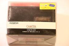 OLYMPUS CAMEDIA CSCH-23 CAMERA CASE LEATHER AZ1