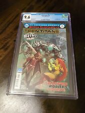New listing Teen Titans #12 Cgc 9.6 White Pages 1st Appearance Of The Batman Who Laughs Hot!