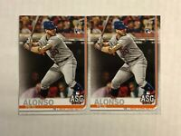 PETE ALONSO LOT OF 2 2019 Topps Update ASG ROOKIE RC's #US47! CHECK MY ITEMS!