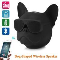 Wireless Bluetooth Dog-Shaped Mini Speaker Stereo Portable FM Radio USB  Card