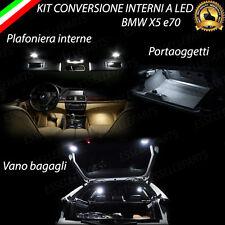 KIT LED INTERNI BMW X5 E70 6000K CANBUS 100% NO AVARIA LUCI