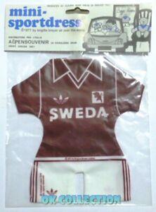 VECCHIO GADGET VINTAGE 1977 CALCIO FOOTBALL MINI MAGLIETTA PER AUTO : TORINO.