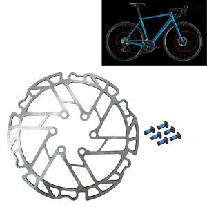 Bicycle 160mm Rotor Disc Brake Rotor 6 Bolts Stainless Steel Lightweight Rotor
