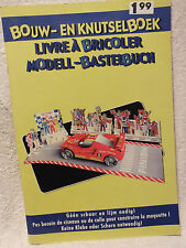 Red Race Car Punch Out Activity Book Modell-Bastelbuch Great Activity Book