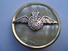 CWW1 R.F.C.(ROYAL FLYING CORPS)GOLD PLATED & MOP SWEETHEARTS PIN BROOCH