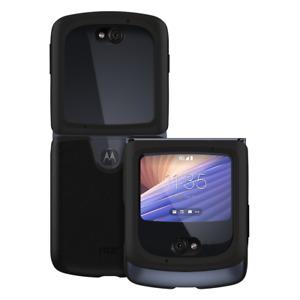 Official Motorola Leather Case for Razr (5G) 2020 - Black -Genuine Original BNIB