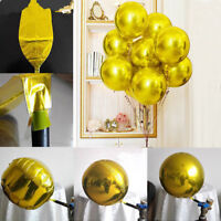 "22"" Round Sphere Shape Aluminum 4D Foil Balloon Wedding Birthday Party Decors AY"