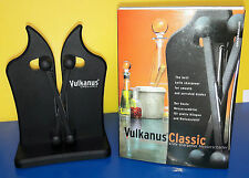Vulkanus Messerschärfer Classic Farbe schwarz Messerschleifer Abzieher MS2002BL