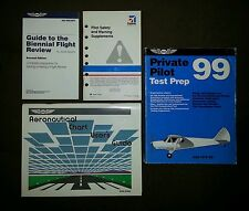 Private Pilot Test Prep Aeronautical Chart Biennial Flight Review Lot Cessna ASA