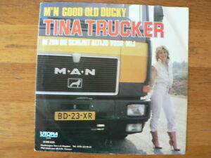 EP  SINGLE  MAN TRUCK COVER TINA TRUCKER M'N GOOD OLD DUCKY 7 INCH