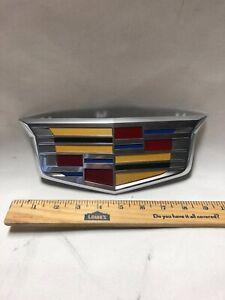2015 - 2020 Cadillac Escalade ESV OEM NEW Front Bumper Grille Emblem 23182045