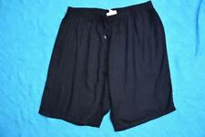 beme Black Lace Trimmed Textured Shorts Size 24 Elastic Waist