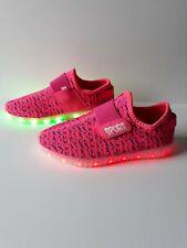 Sneaker Trolls Mädchenschuhe mit LED Licht Sportschuhe Laufschuhe Pink