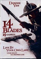 NEW MARTIAL ARTS DVD // 14 BLADES // Donnie Yen, Zhao Wei, Wu Chun, Kate Tsui