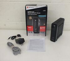 Motorola SURFboard SBG6580 409.6 Mbps Cable Modem & Wi-Fi Router EXCELLENT