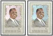 Timbres Personnages Tchad 253/4 ** lot 19269