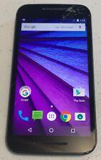 Motorola Moto G XT1540 - 8GB - Black Consumer Cellular For Parts Or Repair