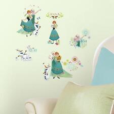 DISNEY FROZEN FEVER Wall Decals OLAF ELSA ANNA 19 Bedroom Stickers Room Decor