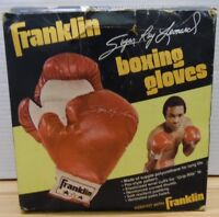 "Sugar Ray Leonard Franklin Boxing Gloves Youth 1773 Welterweight 8"" G031218DBT3"