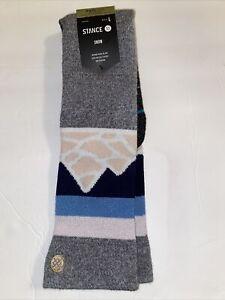 Stance Snow Feel360 InfiKnit OTC Merino Wool, Spillway, Large 9-13, NWT