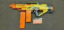 Nerf N-Strike Stampede ECS Auto Motorized Gun #10 -  2 Magazine Clips - Tested