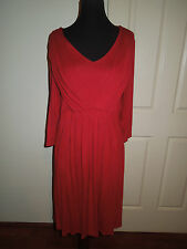 MILLERS RED DRESS, STRETCH FABRIC, SIZE 16, BRAND NEW WITH TAGS!
