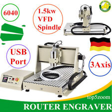 3AXIS CNC6040Z ENGRAVER MILLING DRILLING MACHINE ENRAGVING ROUTER 1.5KW USB Port