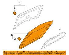 AUDI OEM 00-02 TT Quattro Liftgate Tailgate-Window Trim 8N8867991A6PS