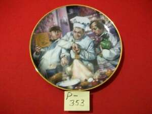 """VINTAGE 1994 LIMITED EDITION THE THREE STOOGES """"THE COOKING LESSON"""" THANKSGIVING"""