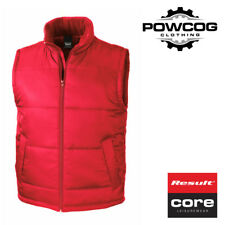 9031990fbc Result Core Waterproof Mens Womens Body Warmer Gilet Lightweight Coat XS-3XL