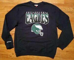 Mitchell & Ness Philadelphia EAGLES CREW Sweatshirt Mens XXXL football ertz nfl