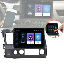 """10.1"""" Android 9.1 Car Radio Stereo Mp5 Player Gps Wifi For Honda Civic 2008~2011"""