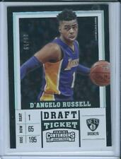 2018 Panini Contenders Basketball Draft Ticket D'ANGELO RUSSELL /99