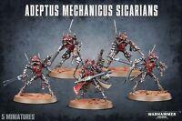 Warhammer 40K Adeptus Mechanicus Sicarians 5  Ruststalkers Infiltrators Sicarian