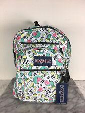 JanSport big student backpack Fruit Ninja School bag bags 100% authentic