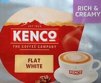 8 x Tassimo Kenco Flat White T Discs Pods Sold Loose - 8 T Discs 4 Large Drinks