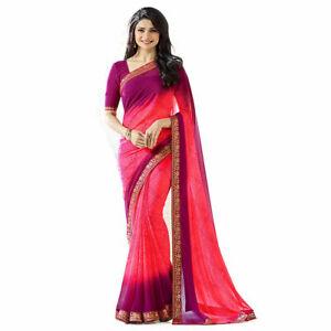 Sari Indian Designer Wear Pakistani Blouse Wedding Bridal Saree Party Wear