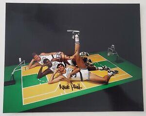 Robert Parish & Kevin McHale Dual Signed 8x10 Photo Boston Celtics NBA HOF RAD