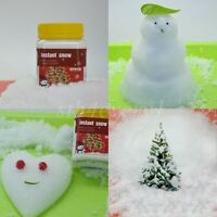 Fake Instant Magic Snow Xmas Christmas Wedding Decoration Just Add Water SNOWMAN